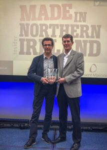 Made in Northern Ireland Manufacturing Innovation Award 2018 214x300
