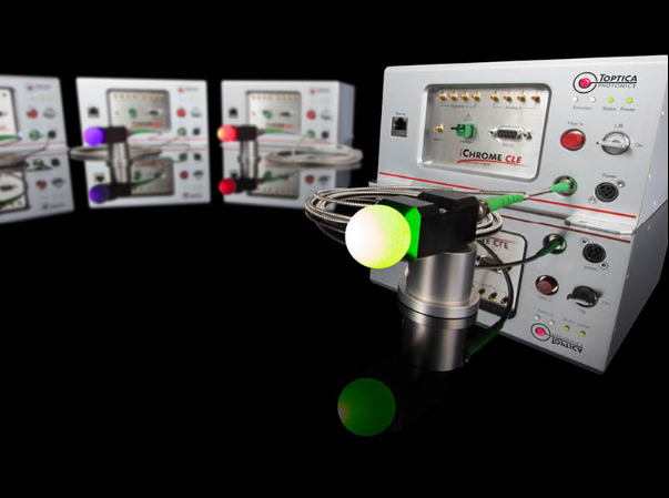 Toptica: iChrome CLE Efficient and compact Four-color Laser Combiner: Multi Laser Engine for Biophotonics & Microscopy